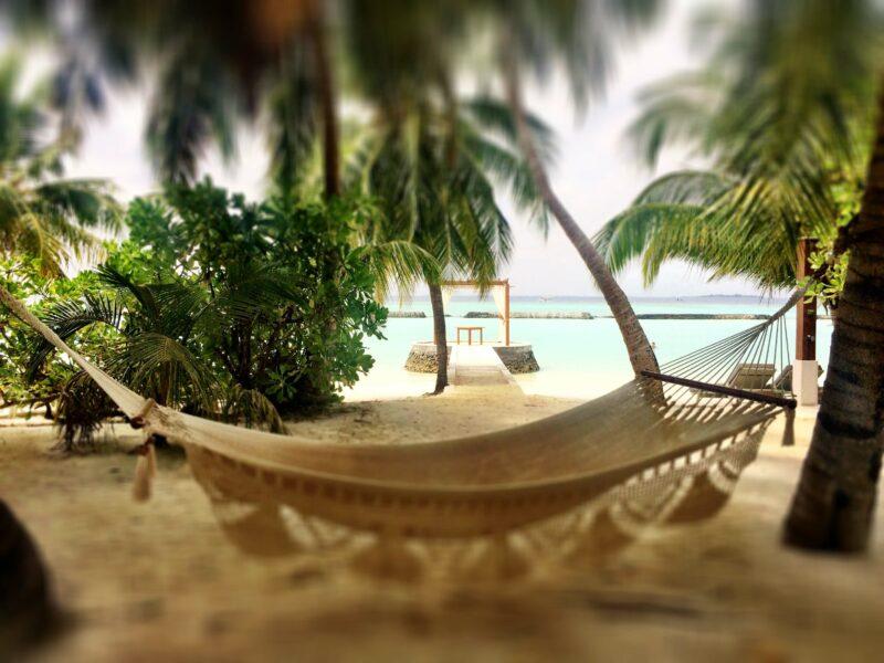 Annaway Entspannt Reisen Hängematte Malediven