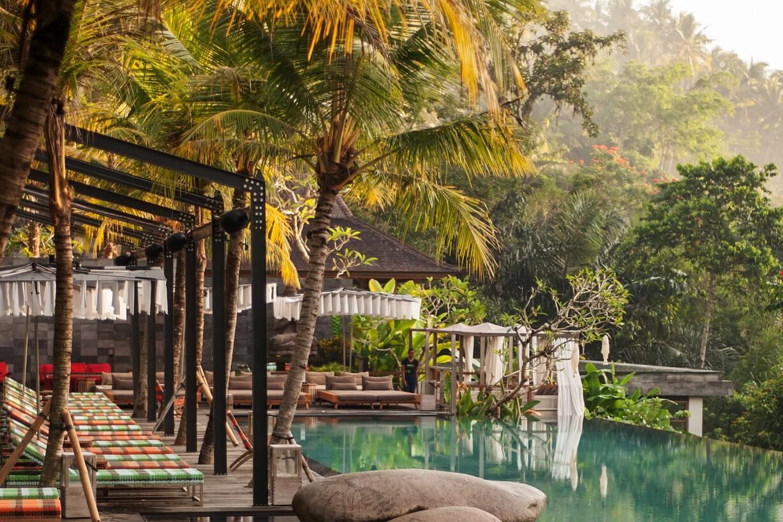 Jungle Fish Pool Bar Annaway Bali Travel