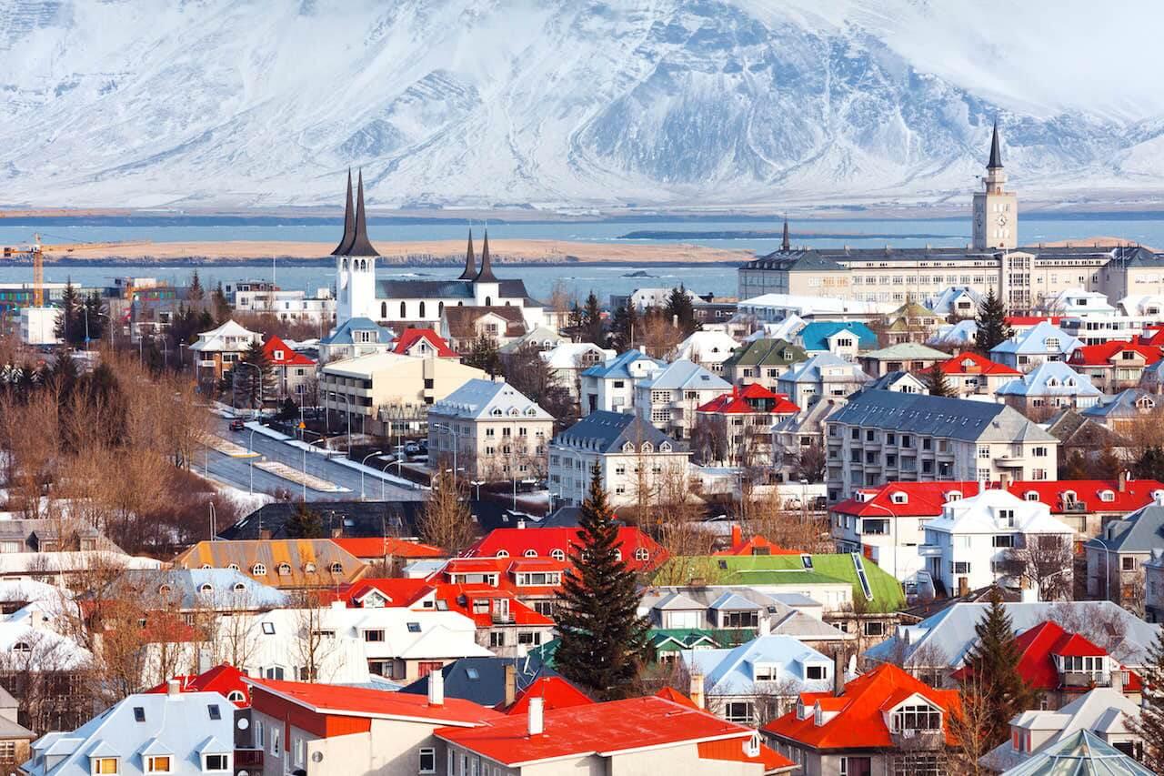 Annaway Top 10 Reiseziele 2018 Reykjavik Island-min