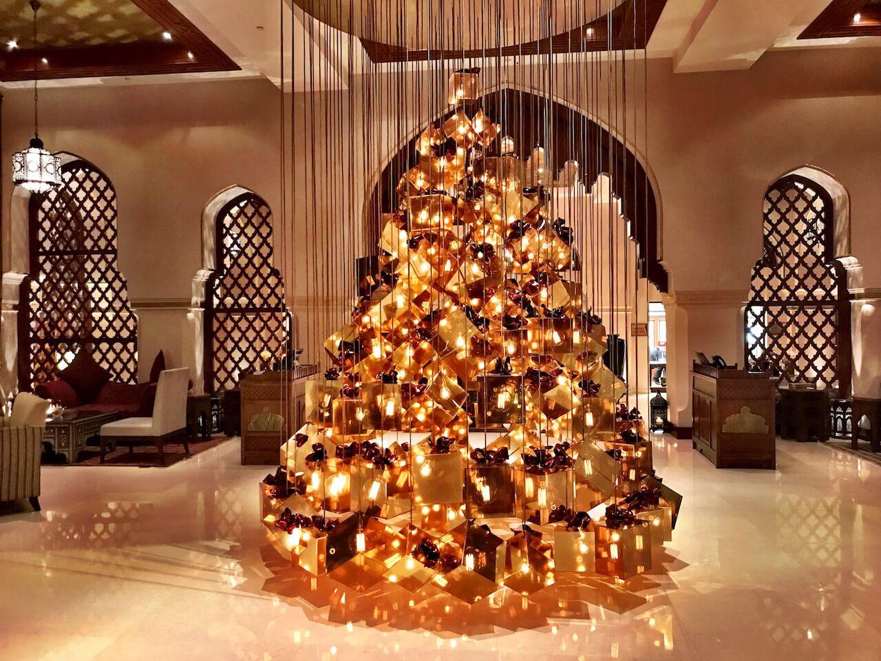 Zauberhafte Weihnachten im Hotel Annaway The Palace Dubai