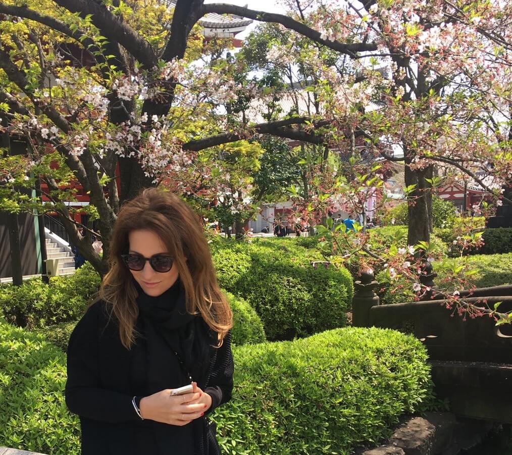 Kirschblüten in Tokio Annaway Travelblog 000