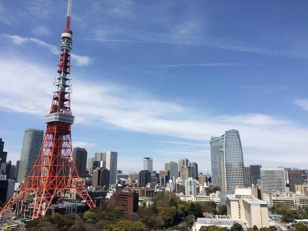 Kirschblüten in Tokio Annaway Travelblog tokio tower 5
