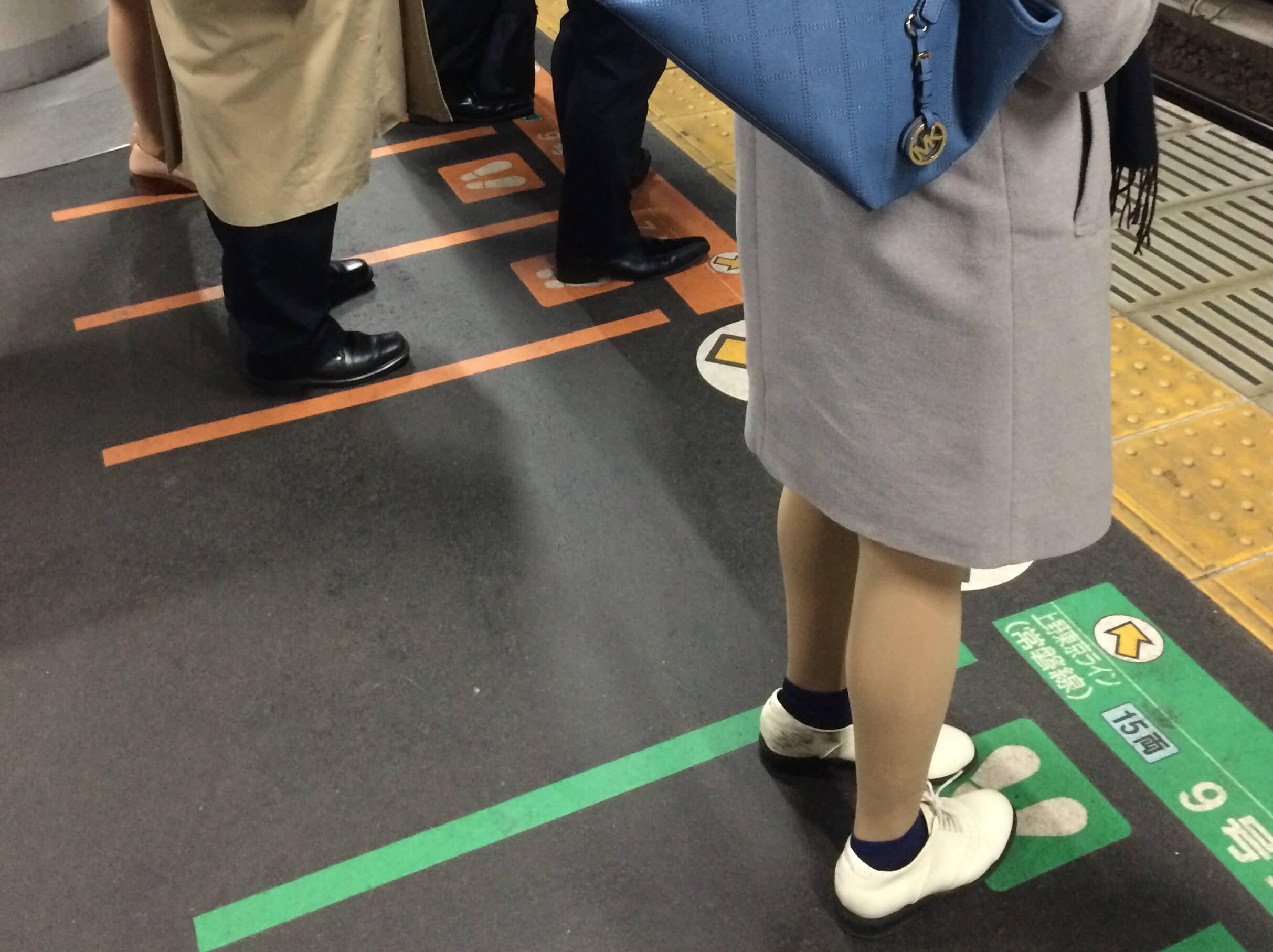 Kirschblüten in Tokio Annaway Travelblog u bahn Metro