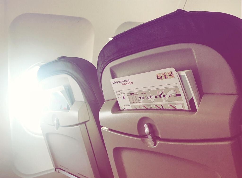 Sonnenschutz im Flugzeug Annaway Travel Travelblogger Reisen 2