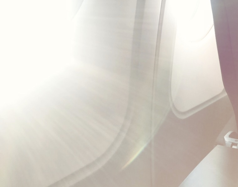 Sonnenschutz im Flugzeug Annaway Travel Travelblogger Reisen 3
