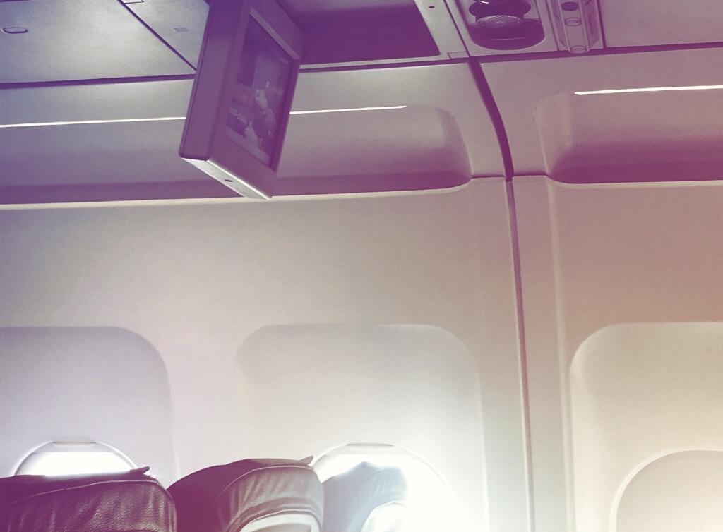 Sonnenschutz im Flugzeug Annaway Travel Travelblogger Reisen 8