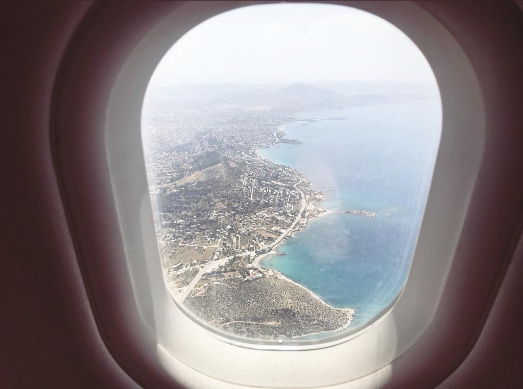 Aegean Airlines - Überraschung über den Wolken Travel Reiseblog