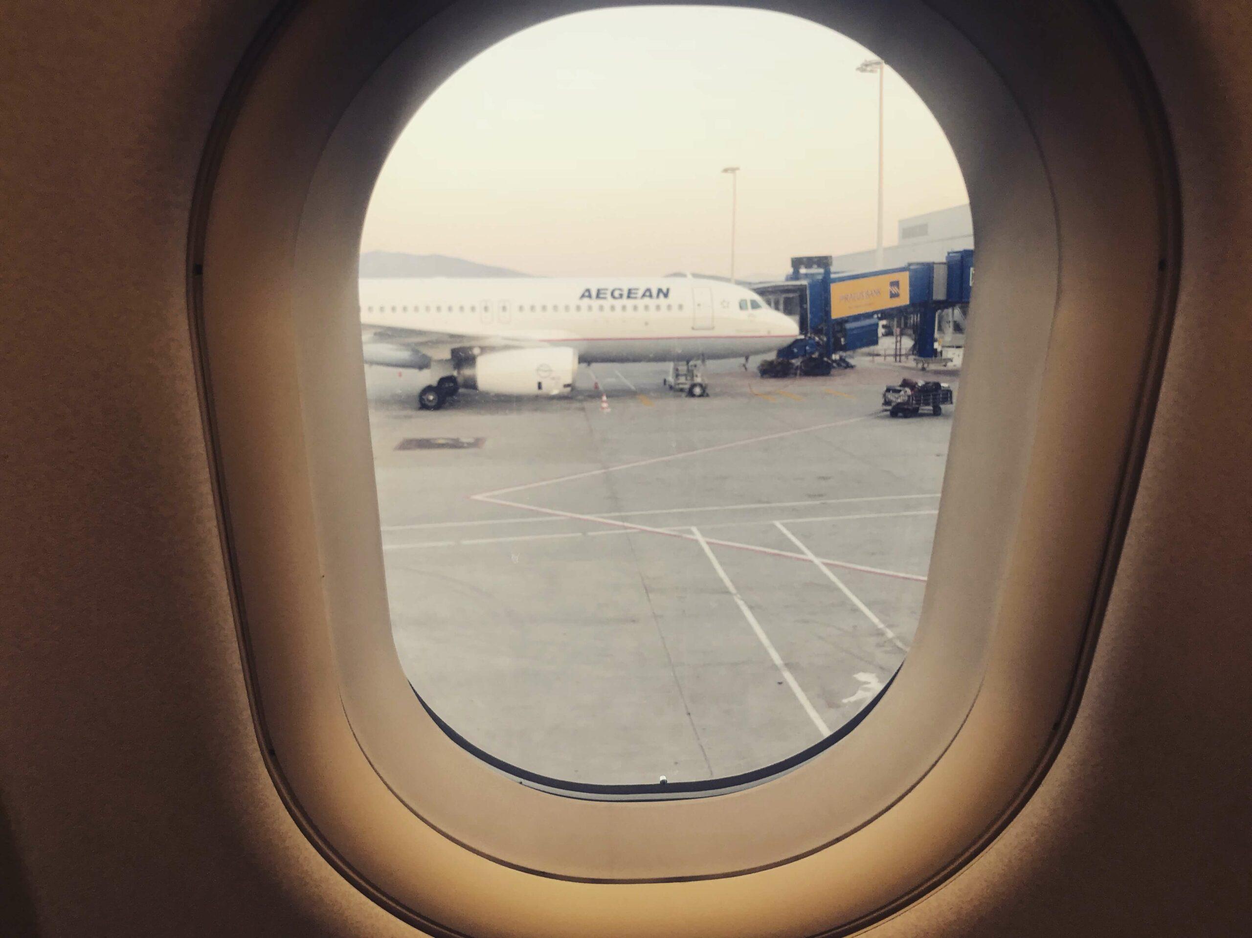 Aegean Airlines - Überraschung über den Wolken Travel Reiseblog 6