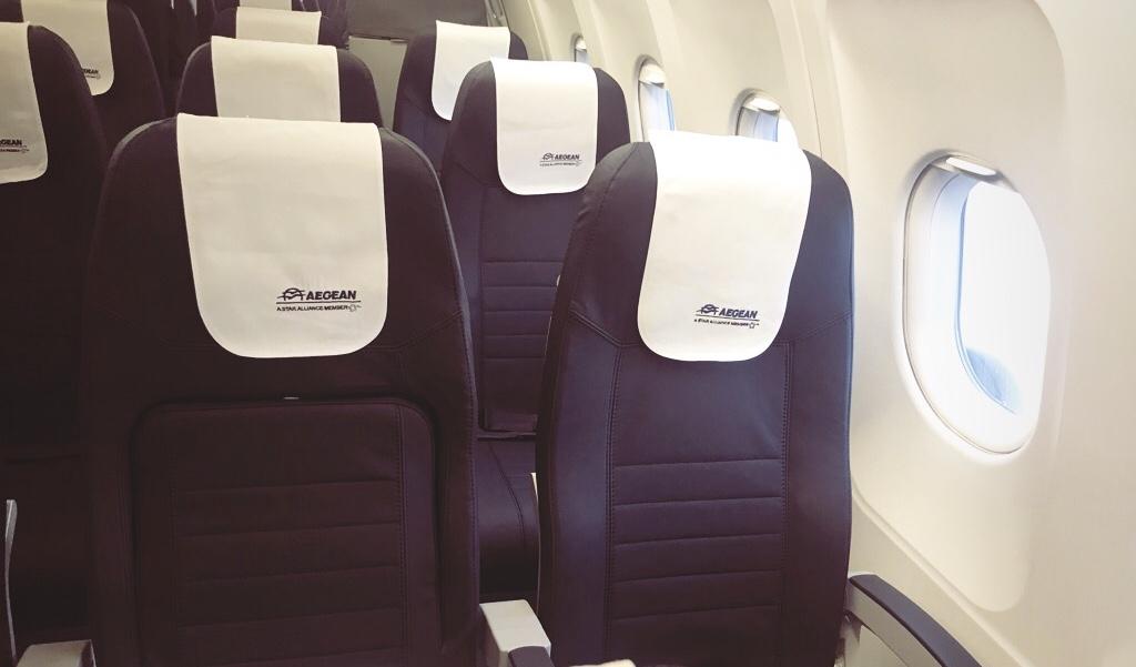 Aegean Airlines - Überraschung über den Wolken Travel Reiseblog 8