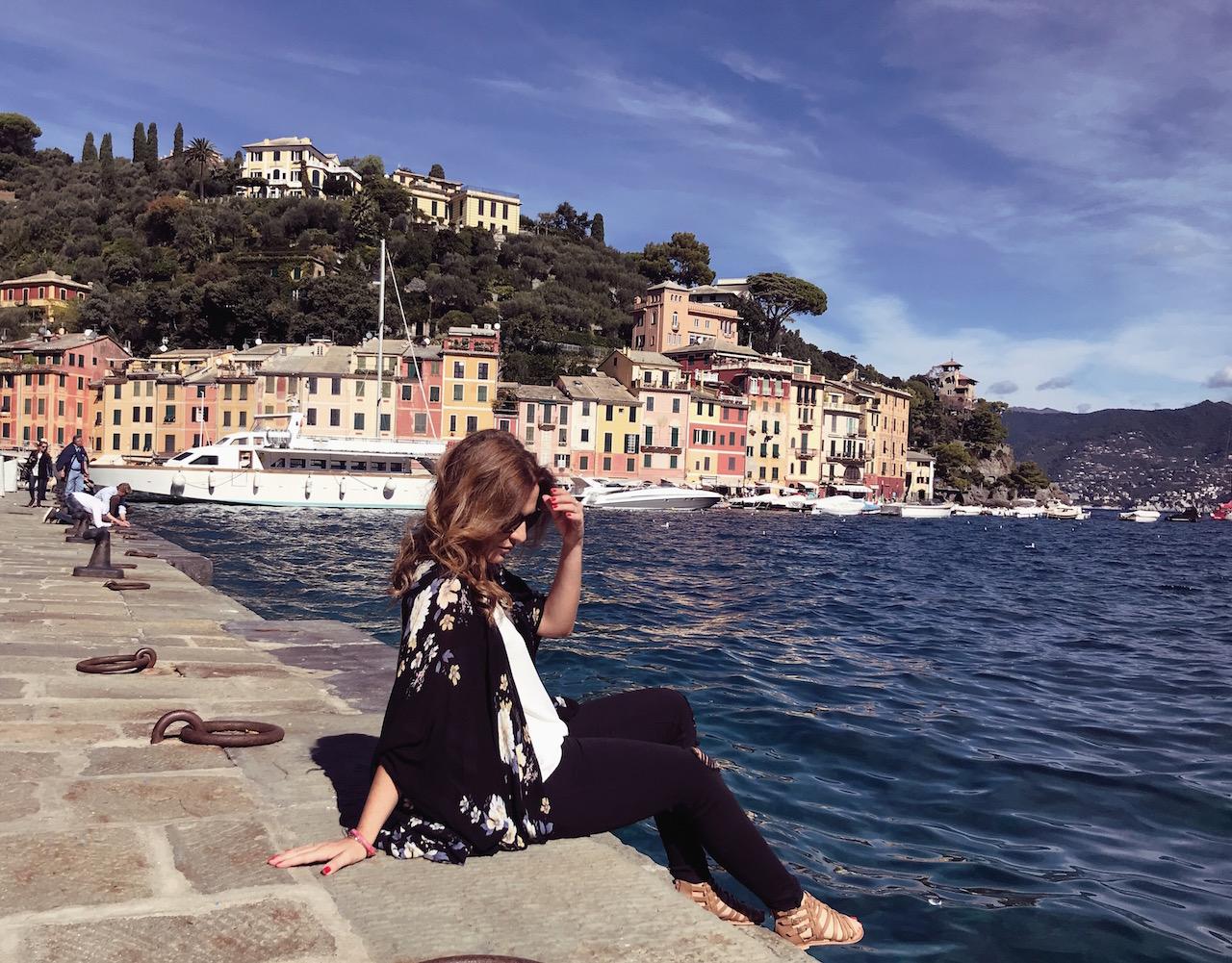 Portofino, und es roch nach Flieder