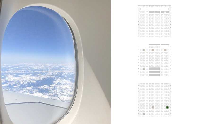 Der beste Sitzplatz im Flugzeug