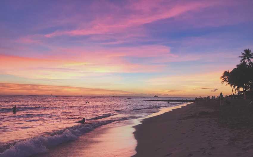Hawaii – Facetten in Pink