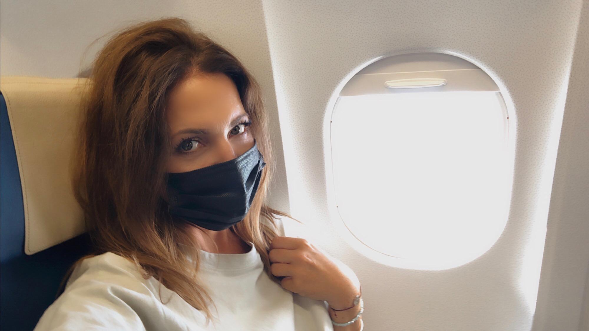 Maskenpflicht Flugzeug Reisen nach Lockdown Annaway